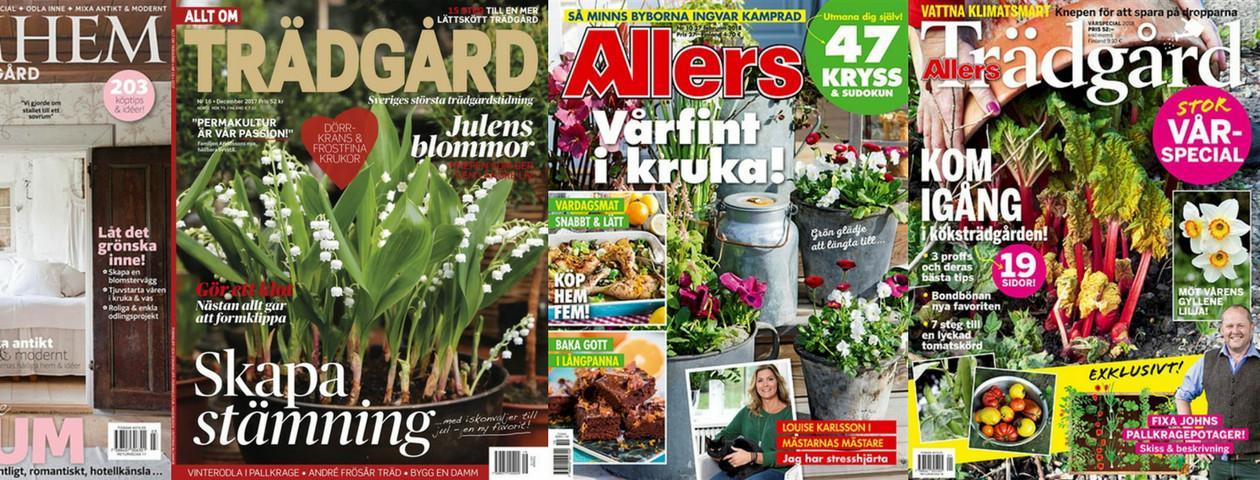 Trädgårdstidningar